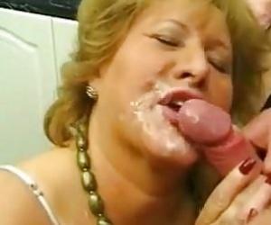 Granny Facial Videos